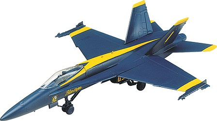 Revell-Monogram F-18 Blue Angel -- Snap Tite Plastic Model Aircraft Kit -- 1/72 Scale -- #851185