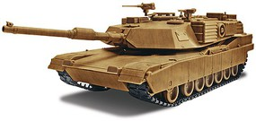 Revell-Monogram Abrams M1A1 Tank Snap Tite Plastic Model Vehicle Kit 1/35 Scale #851230