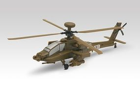 Revell-Monogram AH-64 D Apache Helicopter Snap Tite Plastic Model Aircraft Kit 1/100 Scale #851373