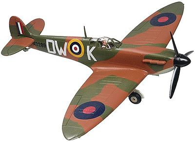 Revell-Monogram Spitfire -- Snap Tite Plastic Model Aircraft Kit -- 1/72 Scale -- #851375