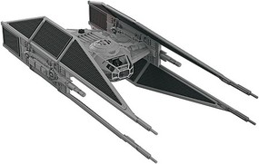 Revell-Monogram Star Wars The Last Jedi- Kylo Rens Tie Fighter w/Sound & Lights (Build & Play Snap)