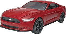 Revell-Monogram 2015 Mustang GT -- Snap Tite Plastic Model Vehicle Kit -- 1/25 Scale -- #851685