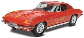 Revell-Monogram 1963 Corvette Stingray Coupe Snap Tite Plastic Model Vehicle Kit 1/25 Scale #851968