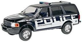 Revell-Monogram 1997 Ford Police Expedition Snap Tite Plastic Model Vehicle Kit 1/25 Scale #851972
