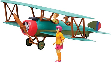 Revell-Monogram Scooby-Doo Bi-Plane -- Plastic Model Airplane Kit -- 1/20 Scale -- #851995