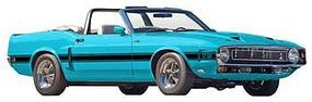 Revell-Monogram 1969 Shelby GT500 Convertible Plastic Model Car Kit 1/25 Scale #854025