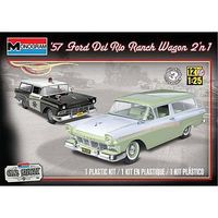 Revell-Monogram 1957 Ford Del Rio Ranch Wagon 2n1 Plastic Model Car Kit 1/25 Scale #854193