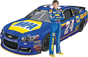 Revell-Monogram #24 Chase Elliot NAPA Auto Parts Chevy SS Plastic Model Car Kit 1/24 Scale #854222