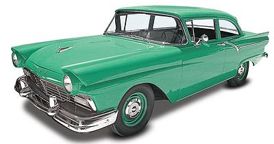Revell-Monogram 1957 Ford Custom 2'n 1 -- Plastic Model Car Kit -- 1/25 Scale -- #854283