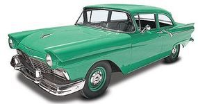 Revell-Monogram 1957 Ford Custom 2n 1 Plastic Model Car Kit 1/25 Scale #854283