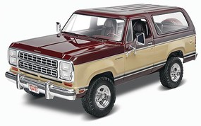 Revell-Monogram 1981 Dodge Ramcharger Plastic Model Truck Kit 1/24 Scale #854372