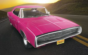 Revell-Monogram 1970 Dodge Charger R/T Plastic Model Car Kit 1/25 Scale #854381