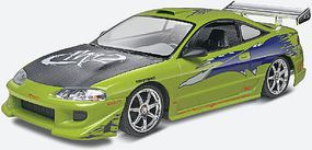 Revell-Monogram Fast & Furious Brians Mitsubishi Eclipse Plastic Model Car Kit 1/25 Scale #854384