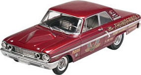 Revell-Monogram 1964 Ford Fairlane Thunderbolt Plastic Model Car Kit 1/25 Scale #854408