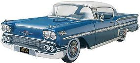 Revell-Monogram 1958 Chevy Impala Plastic Model Car Kit 1/25 Scale #854419