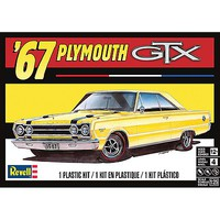 Revell-Monogram 1967 Plymouth GTX Plastic Model Car Kit 1/25 Scale #854481