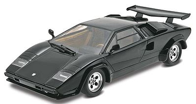 Revell-Monogram Lamborghini Countach -- Plastic Model Car Kit -- 1/24 Scale -- #854948