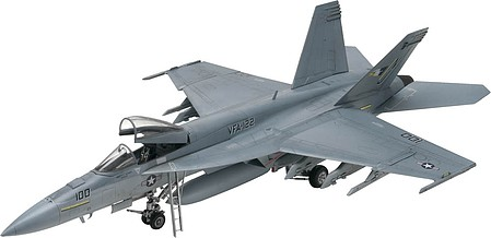 Revell-Monogram F/A-18E Super Hornet -- Plastic Model Airplane Kit -- 1/48 Scale -- #855850