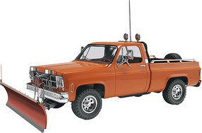 Revell-Monogram GMC Pickup with Snow Plow Plastic Model Truck Kit 1/24 Scale #857222