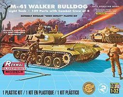 Revell-Monogram M-41 Walker Bulldog Plastic Model Military Vehicle Kit 1/32 Scale #857814