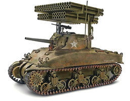 Revell-Monogram Sherman M4A1 Screamin MIMI Plastic Model Military Vehicle Kit 1/32 Scale #857863