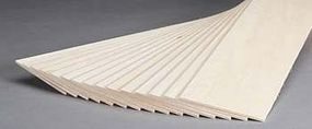 Revell-Monogram Basswood Sheet 1/8x4x24 (15)