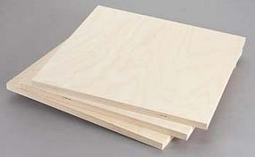 Revell-Monogram Birch Plywood 12mm 1/2x12x12 (3)