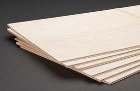 Revell-Monogram Model Birch Plywood 3/16x12x24 (6)