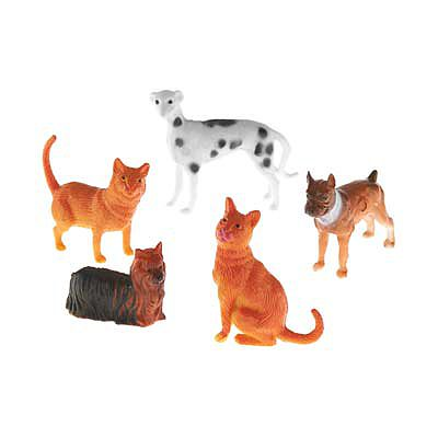 Revell-Monogram 77-1107 School Project Accessory Dogs/Cats