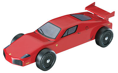Revell-Monogram Sports Car Racer Kit -- Pinewood Derby Car -- #y8640