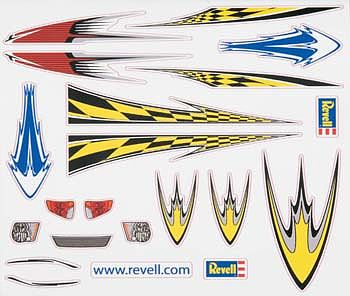 Revell-Monogram Peel & Stick Decal D -- Pinewood Derby Decal and Finishing -- #y8676