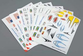 Revell-Monogram Peel & Stick Decal H-J Assortment #3 (6) Pinewood Derby Decal and Finishing #y8679