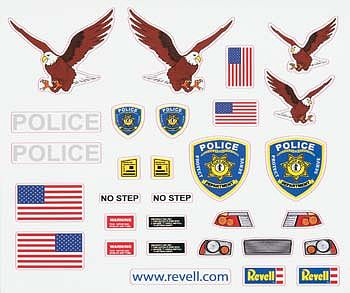 Revell-Monogram Peel & Stick Decal J -- Pinewood Derby Decal and Finishing -- #y8682