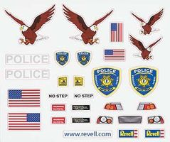 Revell-Monogram Peel & Stick Decal J Pinewood Derby Decal and Finishing #y8682