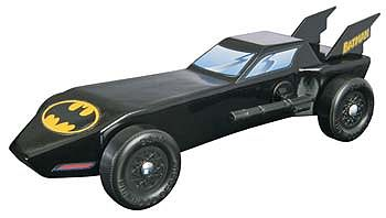Revell-Monogram Batman Batmobile Trophy Series Kit -- Pinewood Derby Car -- #y9401
