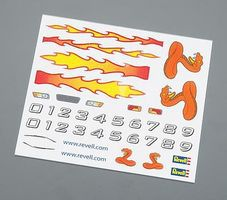 Revell-Monogram Dry Transfer Decal A Pinewood Derby Decal and Finishing #y9619