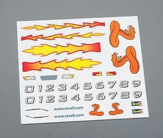 Revell-Monogram Peel & Stick Decal A Pinewood Derby Decal and Finishing #y9627