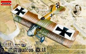 Roden Albatros D.II Plastic Model Airplane Kit 1/72 Scale #rd0006