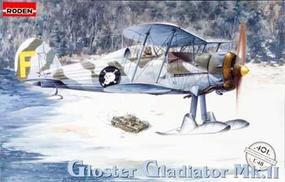 Roden Gloster Ggadiator Mk.II Plastic Model Airplane Kit 1/48 Scale #rd0401