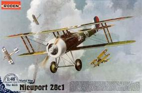 Roden Nieuport 28 Plastic Model Airplane Kit 1/48 Scale #rd0403