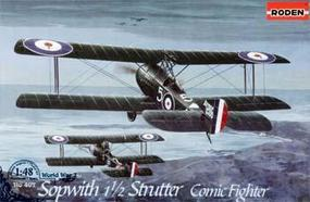 Roden Sopwith 1 1/2 Strutter Comic Fighter Plastic Model Airplane Kit 1/48 Scale #rd0407