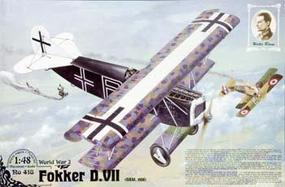 Roden Fokker D.VII OAW Mid Prod Plastic Model Airplane Kit 1/48 Scale #rd0418