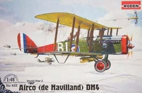 Roden Havilland DH-4 Plastic Model Airplane Kit 1/48 Scale #rd0422