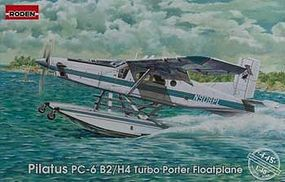 Roden Pilatus PC-6 B2/H4 Turbo Plastic Model Airplane Kit 1/48 Scale #rd0445