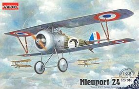 Roden Nieuport 24 Plastic Model Airplane Kit 1/32 Scale #rd0618