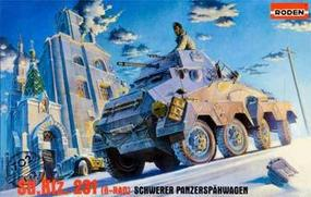 Roden Sd.Kfz.231 Plastic Model Military Vehicle Kit 1/72 Scale #rd0702