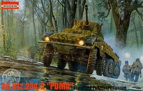 Roden Sd.Kfz.234/2 Puma Plastic Model Military Vehicle Kit 1/72 Scale #rd0705