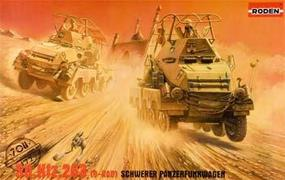 Roden Sd.Kfz.263 Plastic Model Military Vehicle Kit 1/72 Scale #rd0708