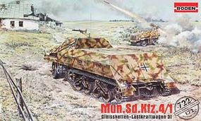 Roden MUN.Sd.Kfz.4/1 Plastic Model Military Vehicle Kit 1/72 Scale #rd0722