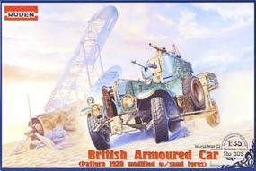 Roden British Armoured Car 1920 Plastic Model Military Vehicle 1/35 Scale #rd0802